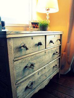 DIY rope drawer pulls