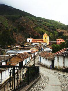 Entrada a Piñango, Mérida, Venezuela