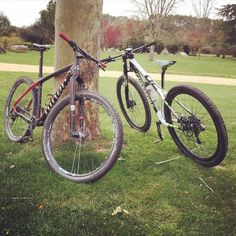 La Belle et la Bête #btt #mtb #cycling #bike #bkie  #cannondale #niner #mountainbike