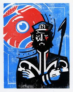 Captain Nemo - Leagues Under the Sea Lino Print Jules Verne, Traditional Sailor Tattoos, Nemo, Leagues Under The Sea, Sea Monsters, Retro Futurism, Book Cover Design, Art Lessons, Book Art