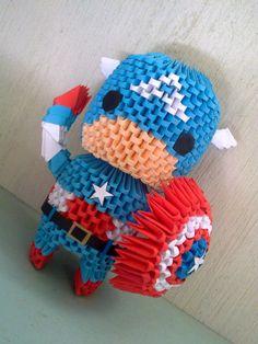 Modular Origami, Origami Art, Diy Paper, Paper Art, Paper Crafts, Fun Crafts, Diy And Crafts, Arts And Crafts, Origami Marvel