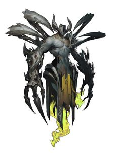 """Non Human Being-Monster-Hybrid-Animal-Beast-Claws-Paws-Obscure. Find more on the """"Creativity+Fantasy"""" board. Fantasy Character Design, Character Concept, Character Art, Fantasy Monster, Monster Art, Creature Concept Art, Creature Design, Magical Creatures, Fantasy Creatures"""