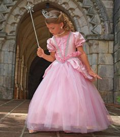 sweet fairy princess girls costume - In a vast fairy-tale kingdom there lived the kindest sweetest princess of all. She wore a breathtaking pink satin ...  sc 1 st  Pinterest & 82 best DIY Tulle Dresses images on Pinterest | Costume ideas ...