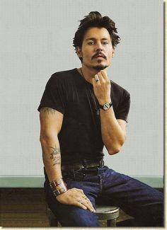 Johnny Depp (Chocolat)