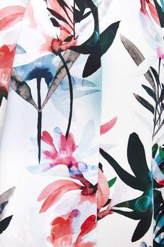Floral Print Prom Dress #wallisfashion #SS16
