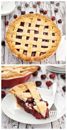 Sweet Cherry Pie | sweetpeaskitchen.com