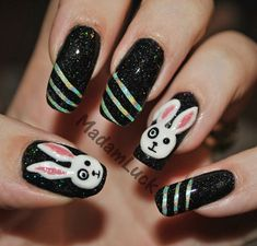 22 Best Nail Art Emo Style Images On Pinterest Emo Nail Art