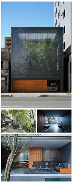 Optical Glass House  Located in downtown Hiroshima