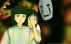 Studio Ghibli, Spirited Away, Chihiro Ogino, Haku (Spirited Away), Kaonashi Wallpaper