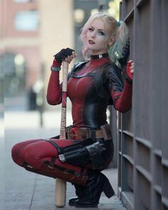 Harley Pool cosplay by beautiful Cosplay Lindo, Cute Cosplay, Amazing Cosplay, Cosplay Outfits, Best Cosplay, Cosplay Girls, Marvel Cosplay, Anime Cosplay, Superhero Cosplay