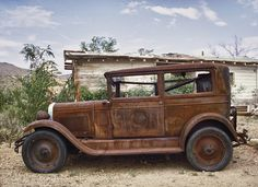 Route 66 Rust Bucket, 2002 by Pat Corrigan, via Flickr
