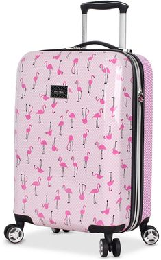 e6fd243b3a Betsey Johnson Cat Face Train Carry-On Round Weekender Suitcase NEW ...