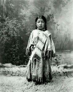 Native American girl . . .