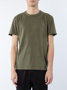 APLACE Perfect T-Shirt Olive - Our Legacy