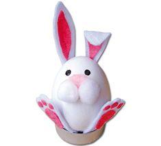 Zvířátka ze skořápek; velikonoční tip pro veselé jarní tvoření s dětmi Easter Crafts, Hello Kitty, Baby, Character, Newborns, Baby Baby, Infants, Child, Toddlers