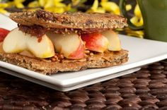 Cinnamon Raisin Flatbread by Healthful Pursuit