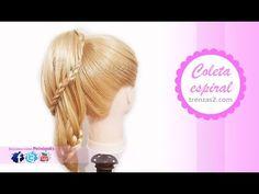 Peinados Faciles | Recogidos con Trenzas CHIC DE MODA! - YouTube