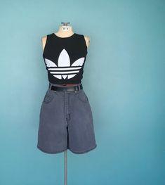 9b39eabc37 90s Denim Shorts High Waisted Jean Shorts, 26 Waist Medium,  TaraLynEvansStudio