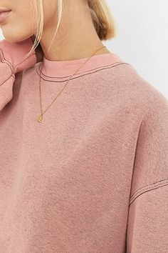 Shop Urban Renewal Vintage Customised Pink Bleached Sweatshirt at Urban Outfitters today. What Is Urban, Bleach Wash, Urban Renewal, Dreaming Of You, Latest Fashion, Urban Outfitters, Sweatshirts, Model, Pink