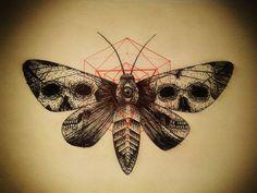 moth tattoo - Pesquisa Google