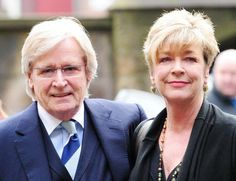 Coronation Street stars Bill Roache and Anne Kirkbride, as Roache has spoken of his last words to his beloved screen wife hours before she died of cancer. (Photo:PA)