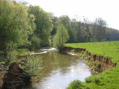 Geul river, Zuid-Limburg, Netherlands