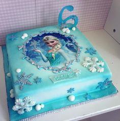Elsa Birthday Cake, Frozen Themed Birthday Cake, 25th Birthday Cakes, Frozen Themed Birthday Party, Frozen Party, 4th Birthday, Captain America Birthday Cake, Bolo Rapunzel, Frozen Cake