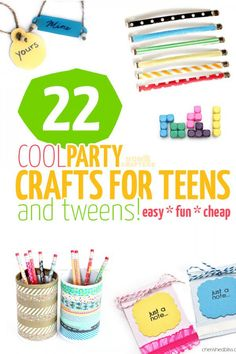 22 Party Crafts for