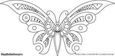 квиллинг бабочки схемы - Поиск в Google