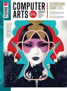Computer Arts. Cover Design.