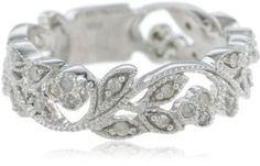 10k White Gold White Diamond Ring (1/4 cttw, H-I Color, I1-I2 Clarity)