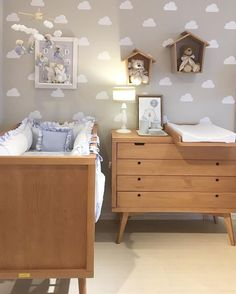 Bring the sky to your kids' bedroom with Circu Magical Furniture! See their co… – Babydusche World Baby Bedroom, Baby Boy Rooms, Kids Bedroom, Ikea Baby Room, Baby Zimmer Ikea, Newborn Room, Childrens Bedroom Furniture, Baby Room Design, Decoration Inspiration