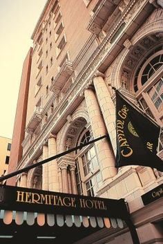 The Hermitage Hotel- Great Brunch and High Tea ~ LOVE!