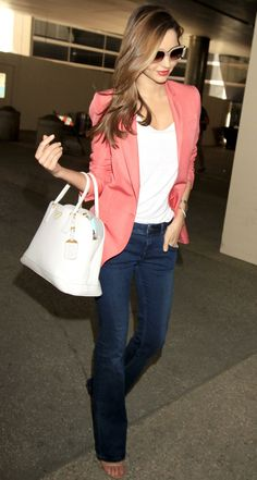cute! I want the pink blazer!