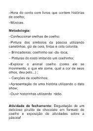 Resultado de imagem para projeto pascoa bercario maternal 1 e 2