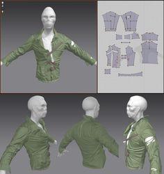 Here is a little breakdown of my Marvelous Designer to Zbrush workflow.  Jonas Skoog