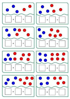 These lovely addition sheets give your children the opportunity to practice their counting and addition skills. These fun addition worksheets with pictures are great for more visual learning. Free Printable Math Worksheets, Kids Math Worksheets, Math Activities, Addition Worksheets, Preschool Writing, Kindergarten Math, Teaching Math, Math Sheets, Montessori Education