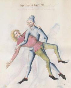 Kal, Paulus: Fechtbuch, gewidmet dem Pfalzgrafen Ludwig Bayern, 2. Hälfte 15. Jh. (nicht nach 1479) Cgm 1507 Folio 84