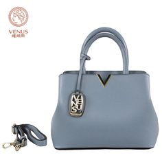88.29$  Watch here - http://ali34s.worldwells.pw/go.php?t=32790774801 - Venus Fashion Women Handbags Light Blue Casual Soft Handle Tote Bag Mico-Synthetic Leather Single-Shoulder Bags Bolsas Femininas 88.29$
