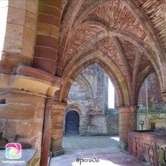 Loving the arches and curves in this great picture by our old friend @per606. If you don't recognise it, it's Lanercost Priory near Brampton. Thank you Percy for sharing it with us and giving us permission to feature it here.
