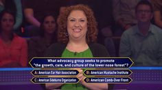 Today, Jennifer Melvin may be facing an advocacy question, but she's really an advocate of winning big on an all-new #MillionaireTV. Will she have this correct #FinalAnswer along the way? Don't miss Jennifer with host Terry Crews. Go to www.millionairetv.com for time and channel to watch Thursday's show!