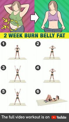 Here's how you can achieve a flat stomach in as fast as 2 weeks! Welcome to the flat belly workout challenge! Focus on working out your core with these high-intensity exercises that's guaranteed to burn not only your stomach fat but also your body's Full Body Gym Workout, Lower Belly Workout, Workout For Flat Stomach, Tummy Workout, Flat Stomach In 2 Weeks, Flat Tummy, Ab Fat Burning Workout, Ladies Workout, Belly Fat Burner Workout