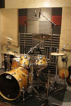 At Jeff Coopers Drum Studio
