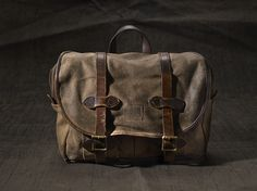 The Filson Restoration Department is coming soon. Learn about our one-of-a-kind bags here: http://fil.sn/FRD