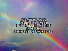Lana del Rey lyrics national anthem