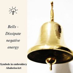 Symbols in embroidery  #Bells 🔔 - Dissipate negative energy  ---------------------------------  #abaloriosart #craft #crafty #artesania #bordado #abalorios #embroidery #beads #beadwork #handmade #picture #pictureoftheday #cute #beautiful #love #art #style #color  #crossstitch #symbols #tips #advice #ideas #justsaying #thoughts #bell #needlework #sewing #knitting
