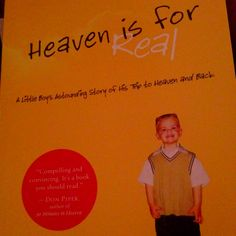 Heaven is for real... Great book!!!