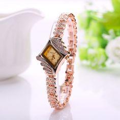 New 2016 Summer Gold Watch Brand Women Wristwatch