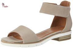 Caprice 28600, Sandales Bout Ouvert Femme, Marron (Pepper Nubuc), 36 EU - Chaussures caprice (*Partner-Link)