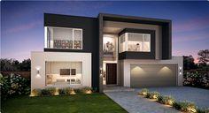 Modern Family House, Modern Small House Design, Modern Exterior House Designs, Latest House Designs, House Front Design, Dream House Exterior, Modern House Plans, Exterior Design, Modern Design